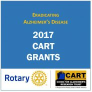 CART Fund 2017 Alzheimer's Research Grants