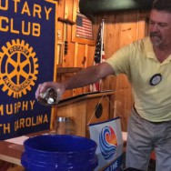 Rotary Club of Murphy (NC) Coin Dump